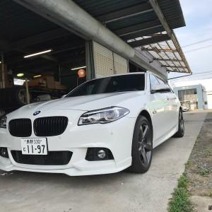 BMW F10/F11 end CC フロントリップスポイラーの画像