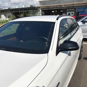 BMW F11 カーボンからのピアノブラック  ミラーカバーの画像