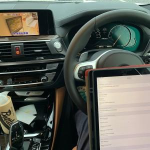 BMW G02 X4 TVキャンセル デイライトON/OFF コーディング    次はコールドスタートキャンセルへの画像