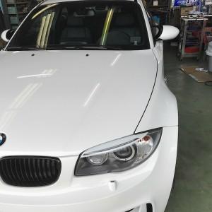 BMW E82  並行車でも やってみます。の画像