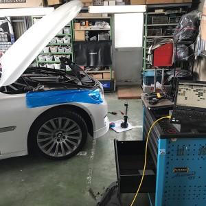 BMW F02 コーディング+点検作業  の画像
